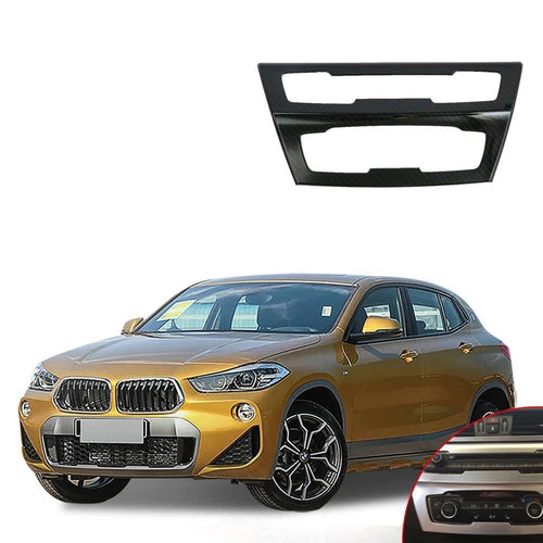 NINTE ABS Car Accessories Center Mode Air Conditioning Outlet Vent Cover Trim For Bmw X2 2018 - NINTE