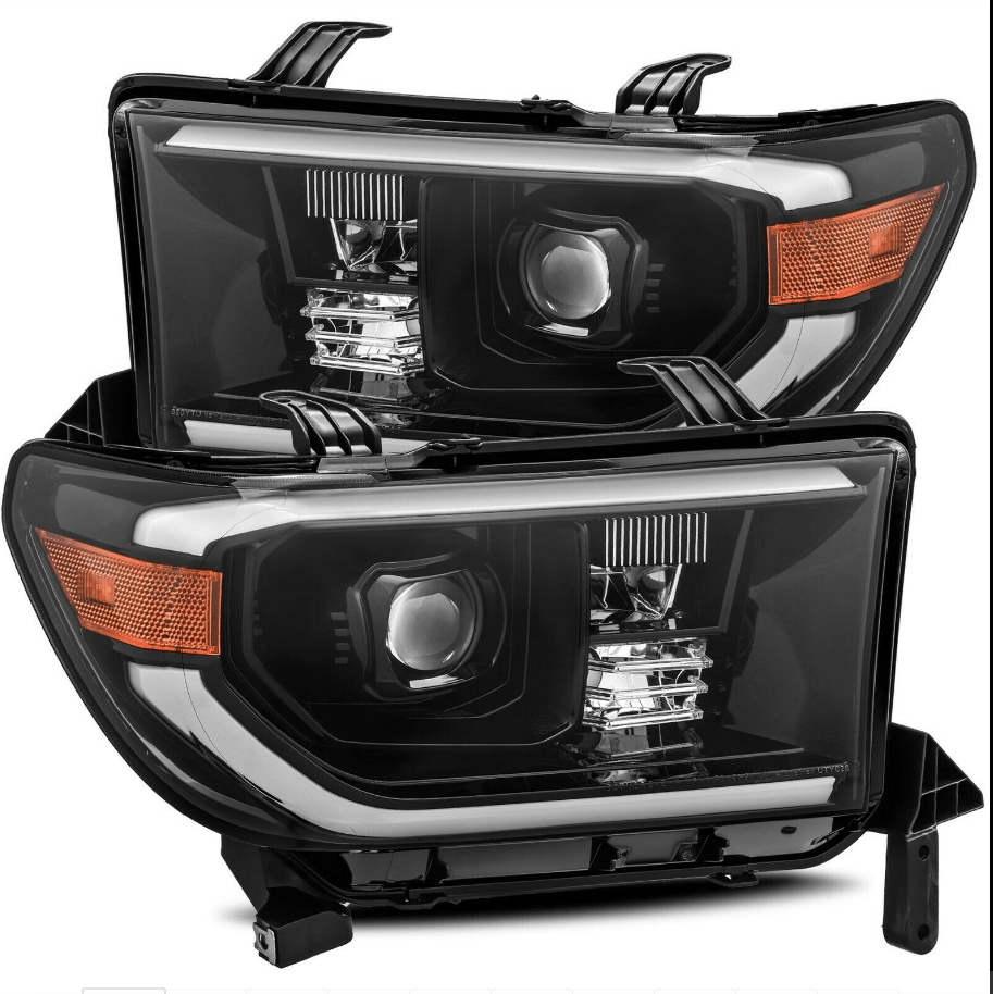 For 07-13 Tundra 08-17 Sequoia headlights by NINTE