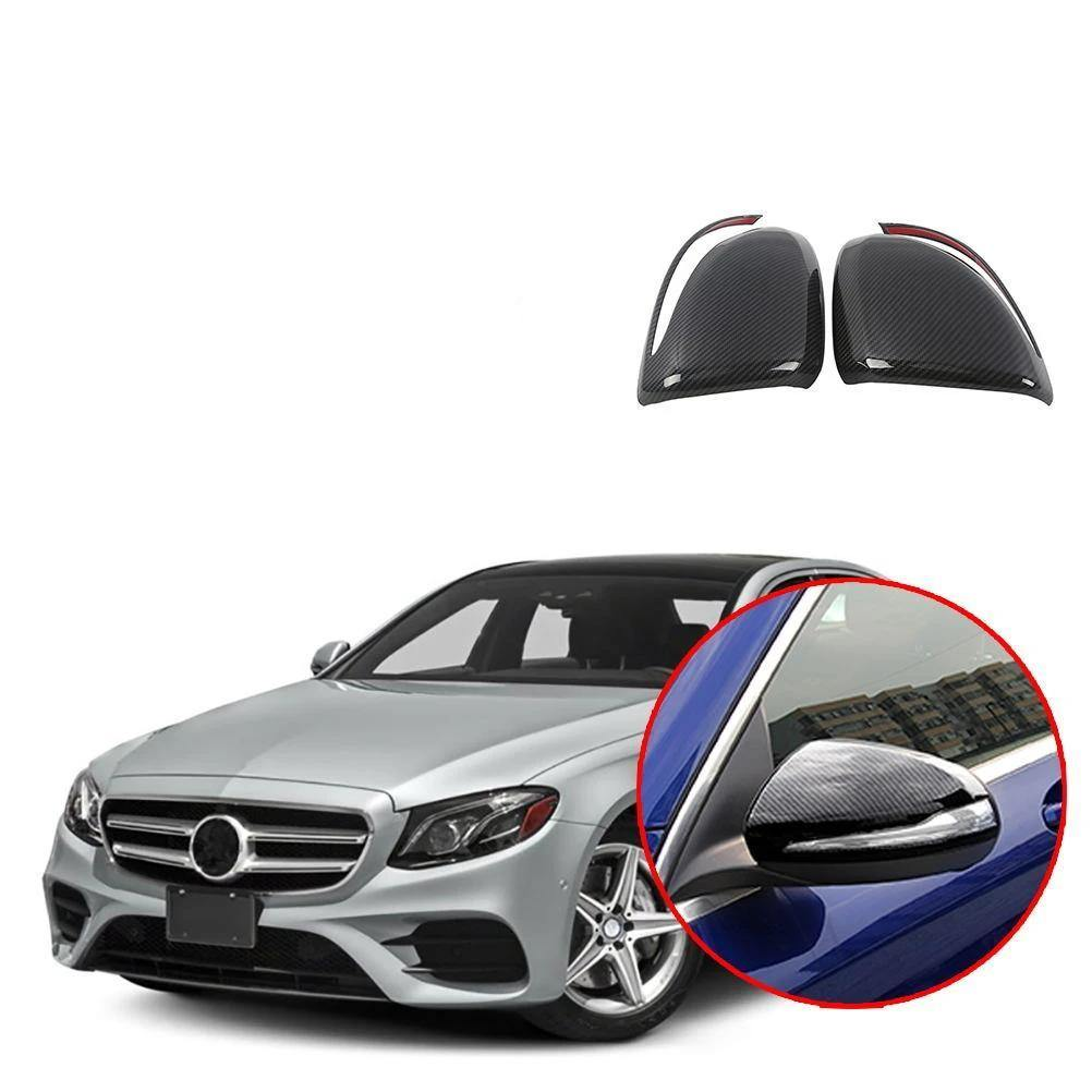 NINTE Side Mirror Cover For Mercedes Benz E-Class 2016-2018