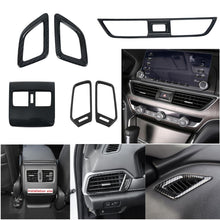 Load image into Gallery viewer, NINTE Honda Accord 10th 2018-2019 Interior Front Rear Console Dashboard Left and Right A/C Vent Frame Cover - NINTE