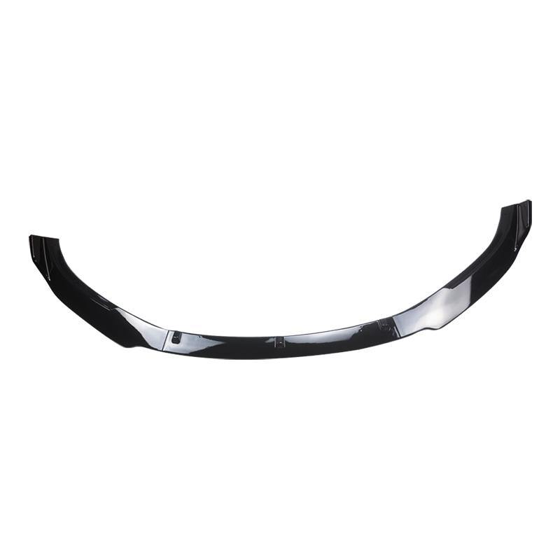 NINTE For Tesla Model 3 Sedan 2016-2020 3 PCS ABS Painted Front Bumper Spoiler Splitter - NINTE
