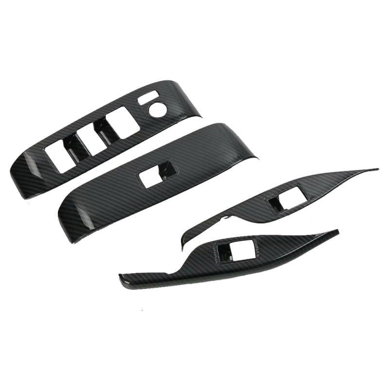 Toyota Alphard 2015-2018 Window Control Panel Glass Lifter Switch Cover Trim Protectors decoration - NINTE