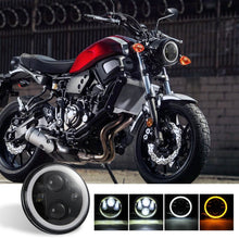 Load image into Gallery viewer, NINTE 1PC 5.75 Inch round LED Headlight DRL