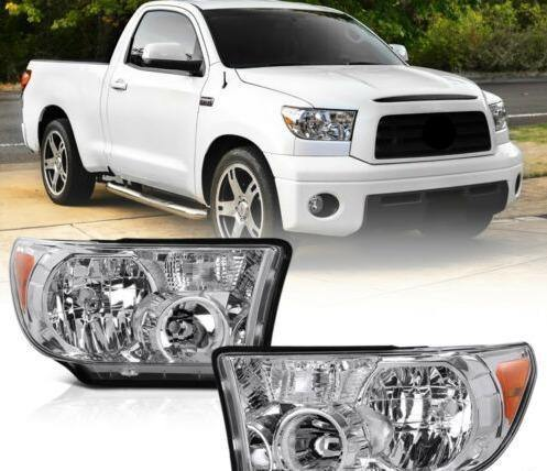 LH+RH Crystal Clear Headlight Signal Lamp For Toyota 07-13 Tundra 08-17 Sequoia - NINTE