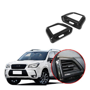 ABS Side Air Vent Outlet Cover Trim For Subaru Forester 2019 NINTE - NINTE