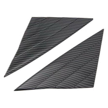 Load image into Gallery viewer, Ninte Tesla Model 3 2017-2019 Carbon Fiber Style 2 PCS ABS Front Window Triangle Cover - NINTE