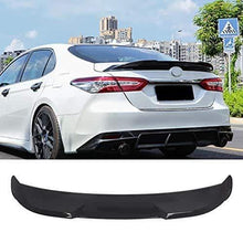 NINTE Spoiler for 2018 2019 Toyota Camry LE/XLE/SE/XSE/Hybrid  - ABS Painted Gloss Black TRD Style Trunk Wing