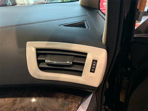 NINTE ABS Interior Side Door Air Vent Cover Tirm Decoration Frame For Toyota Alphard 2016-2018 - NINTE