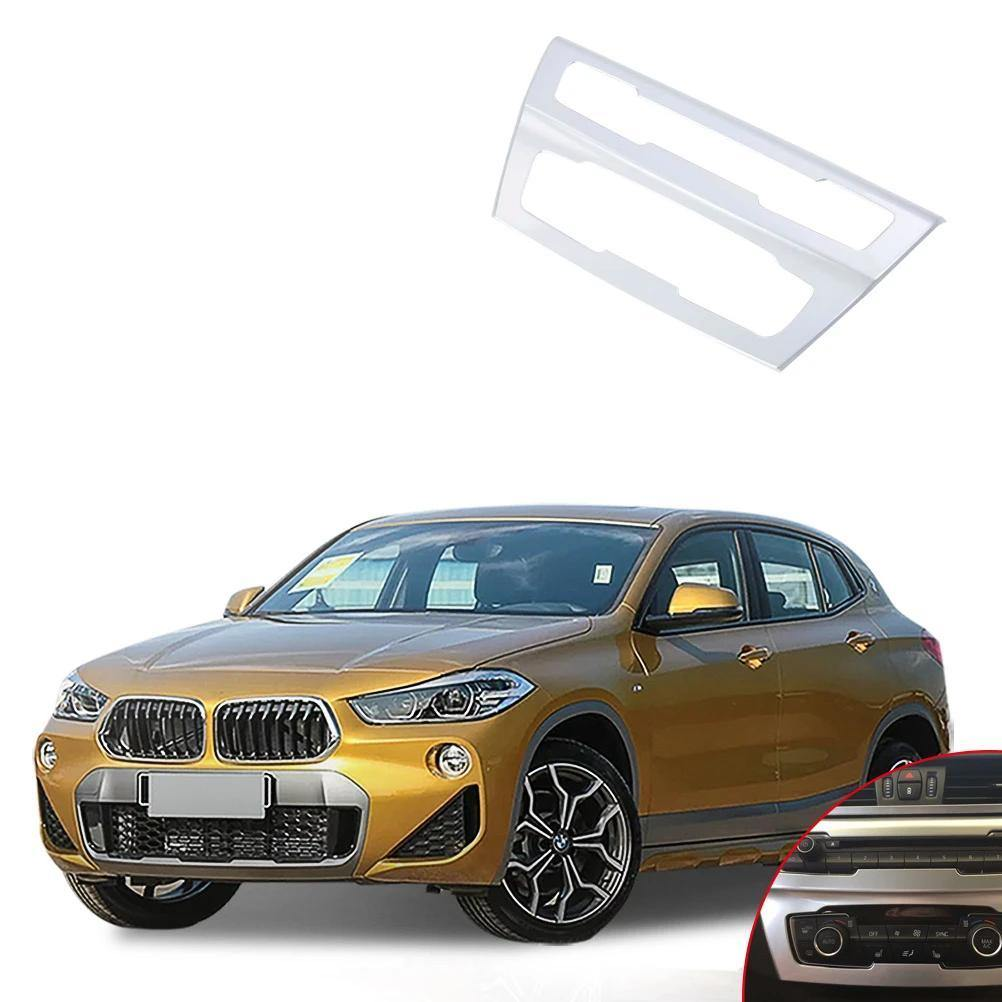 Ninte BMW X2 2018 ABS Car Accessories Center Mode Air Conditioning Outlet Vent Cover - NINTE