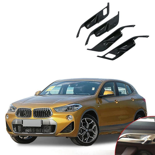 NINTE Car-Styling 4pcs/set ABS Interior Door Bowl Cover Trim For Bmw X2 2018 - NINTE