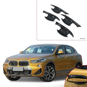 NINTE Car Accessories Exterior Decoration ABS Door Handle Bowl Cover Trims For BMW X2 2018 - NINTE