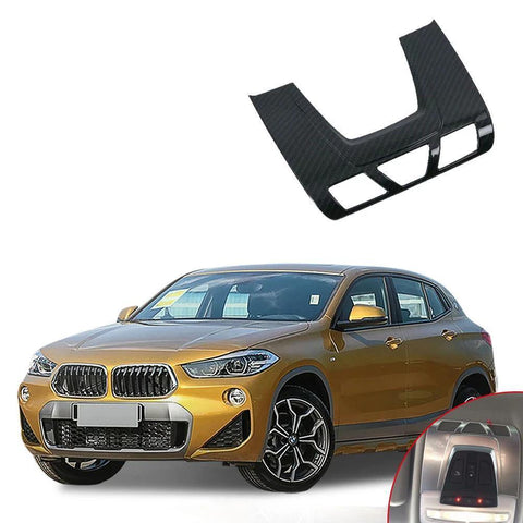 NINTE ABS Car Accessory Interior Front Reading Light Cover Trim For Bmw X2 2018 - NINTE