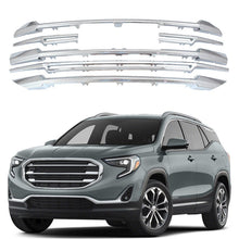For 2018 2019 GMC Terrain Front Grille Snap On Cover Overlay 6 Pcs CHROME Grille - NINTE