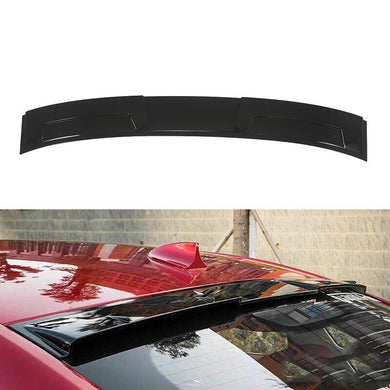 Rear Roof Spoiler Window Wing For 2014-2018 infiniti Q50 Sedan Gloss Black PP - NINTE