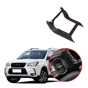 ABS Interior Car Water Cup frame Trim For Subaru Forester 2019 NINTE - NINTE
