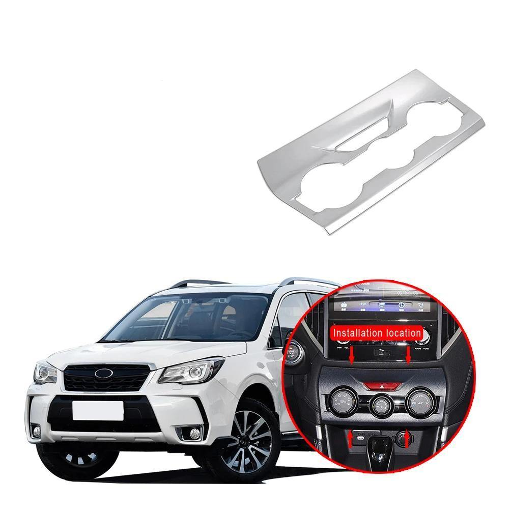 Ninte Subaru Forester 2019 Air Condition Control Panel Cover Pattern - NINTE