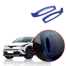 Load image into Gallery viewer, NINTE Toyota C-HR CHR 2016-2018 Blue Upper Air Vent Outlet Trim Garnish Cover - NINTE