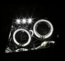 Load image into Gallery viewer, For 05-08 Nissan Frontier 05-07 Pathfinder Clear LED Halo Projector Headlights - NINTE