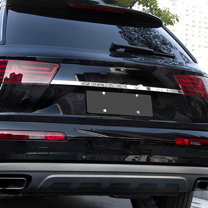 Ninte Audi Q7 2016-2019 Stainless steel Tail Rear Trunk Lid Cover - NINTE