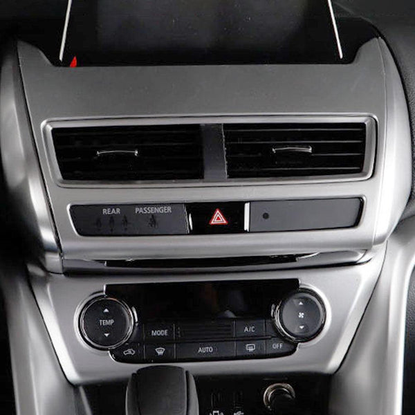 NINTE Interior Dashboard GPS Navigation Decoration Cover Trim For Mitsubishi Eclipse Cross 2017-2019 - NINTE