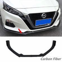 Load image into Gallery viewer, NINTE Nissan Altima 2019 3 PCS ABS Front Bumper Spoiler - NINTE