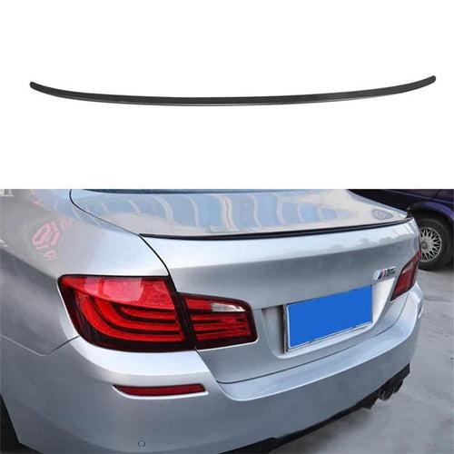 NINTE Painted Gloss Black Trunk Spoiler For 2012-2016 BMW 5-Series F10 Sedan | M5 Performance Style ABS Rear Wing - NINTE