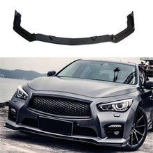 Load image into Gallery viewer, NINTE For 2014-2017 Infiniti Q50 Sport Model ABS 3 PCS Front Bumper Lip Long Spoiler Splitter - NINTE