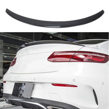NINTE Trunk Spoiler for 2017-2019 Mercedes Benz W238 E Class 2 Door Coupe, Painted ABS Carbon Fiber Coating Wing - NINTE