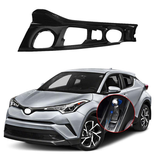 NINTE Interior Console Gear Shift Panel Cover | Only Left Hand Drive For 2017-2019 Toyota C-HR - NINTE