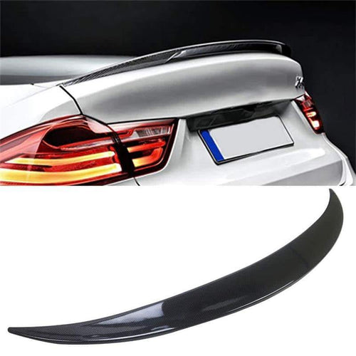 NINTE Trunk Spoiler Painted ABS Carbon Fiber Coating M Performance Wing For 2014-2018 BMW X4 F26