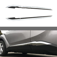 Load image into Gallery viewer, NINTE Toyota C-HR 2017-2019 4 PCS ABS Chrome Side Molding Guard Cover - NINTE