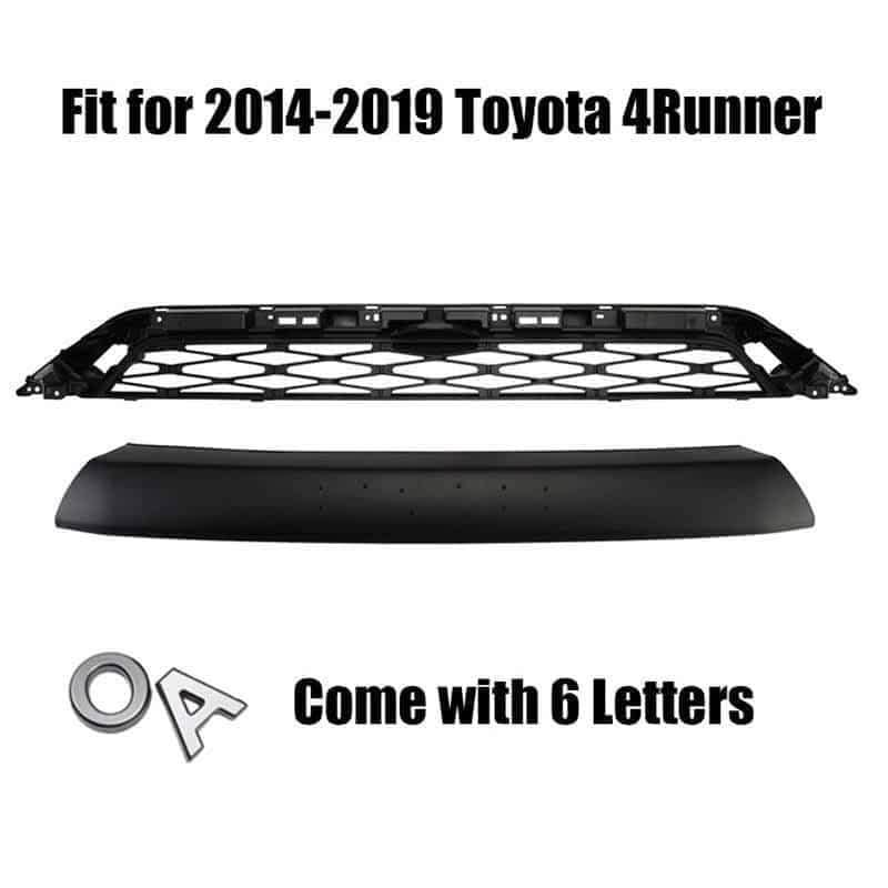 NINTE Toyota 4 Runner 2014-2019 SR5 Trail TRD PRO Black Front Mesh Grille Replacement - NINTE
