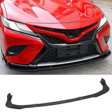 NINTE Front Bumper Chin Lip Cover 3 Pieces For Toyota Camry SE/XSE 2018-2019 - NINTE