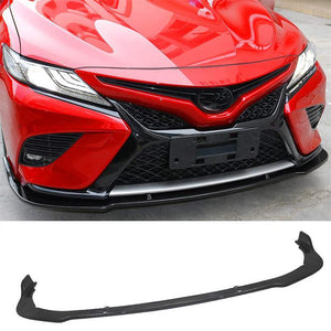 NINTE Front Bumper Chin Lip Cover 3 Pieces For Toyota Camry SE/XSE 2018-2020 - NINTE