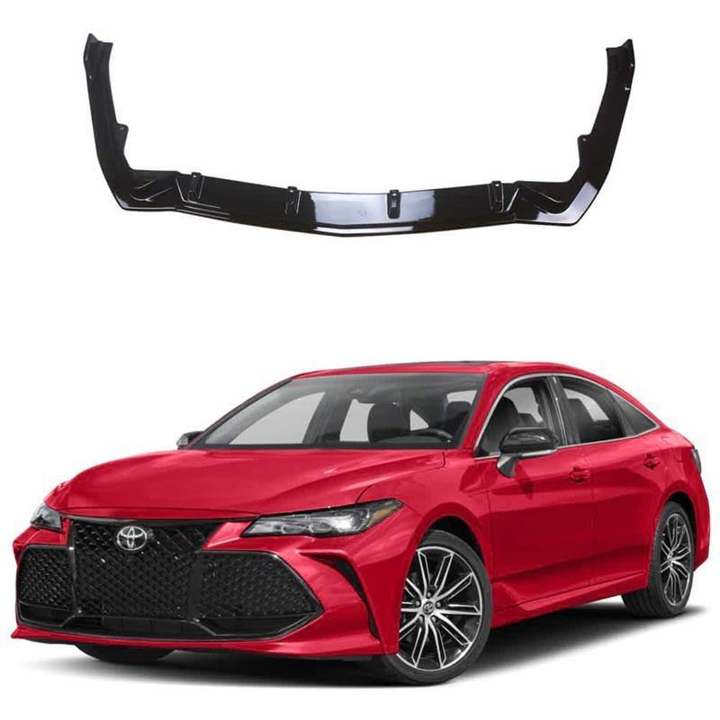 NINTE Toyota 2019 Avalon 3 PCS Gloss Black Painted ABS Front Bumper Lip - NINTE