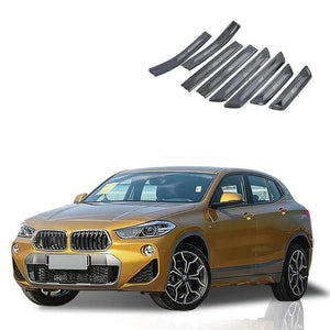 NINTE Car Accessories Interior Stainless Steel Sill Scuff Plate Threshold Plate Cover Car Styling For BMW X2 2018 - NINTE