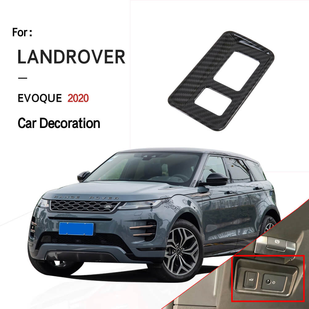 NINTE Front Headlight Adjustment Panel Cover for Land Rover Range Rover Evoque 2020