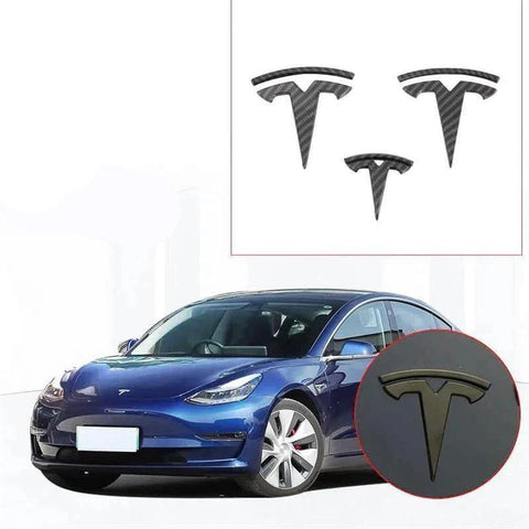 NINTE Tesla Model 3 T Logo Decal - High-quality ABS Kit - NINTE