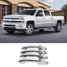 Load image into Gallery viewer, NINTE 2014-2020 GMC Sierra 1500 / Chevy Silverado & 15-19 Chevy Tahoe/Suburban/GMC Yukon/Denali Door Handle Covers w/Smart Key - NINTE