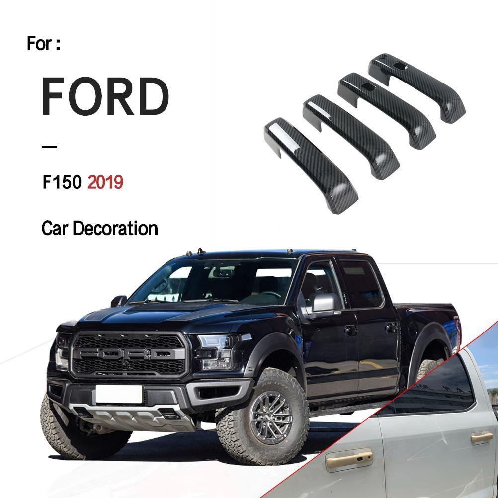 Ninte Ford F150 2015-2019 Painted 4 Door Handle Covers With Smart Hole - NINTE