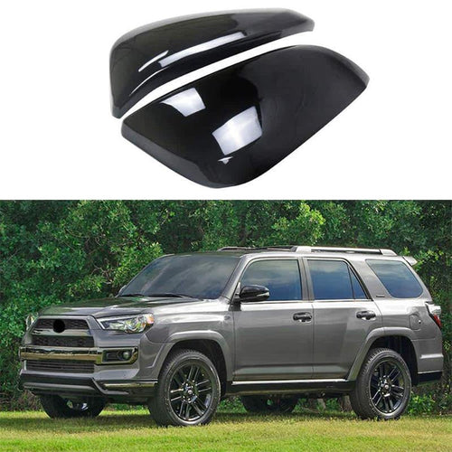 NINTE ABS Top Half Mirror Covers For Toyota 2014-2019 4Runner / 2013-2019 RAV4 / 2014-2018 Highlander - NINTE