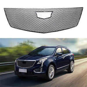 NINTE ABS Front Mesh Grill Protector Trim For Cadillac XT5 2017-2019 - NINTE