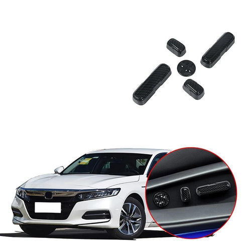 NINTE ABS Interior Seat Adjustment Cover Trim For Honda Accord 2018-2019 - NINTE
