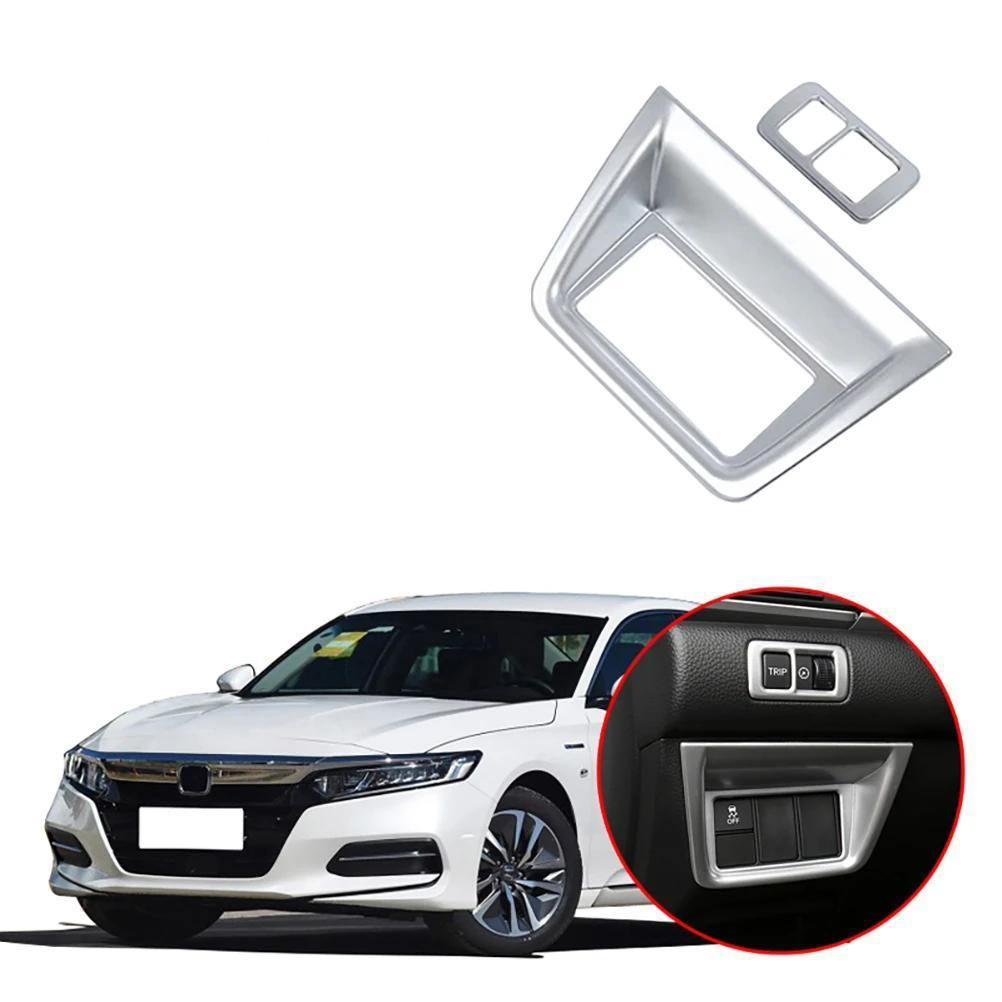 NINTE Honda Accord 10th 2018-2019 Headlight Adjustment Button Cover Sticker - NINTE