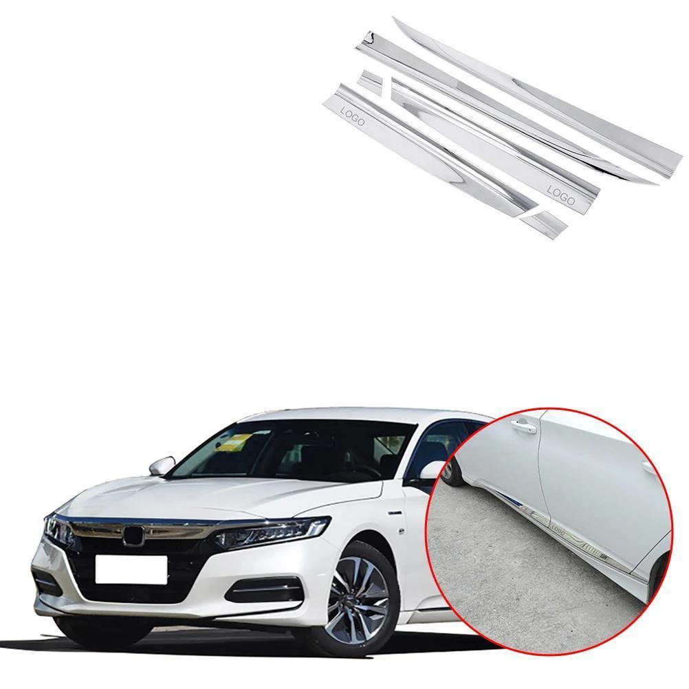 NINTE Door Body Side Moulding Cover Trim For HONDA Accord 2018-2019 10th - NINTE