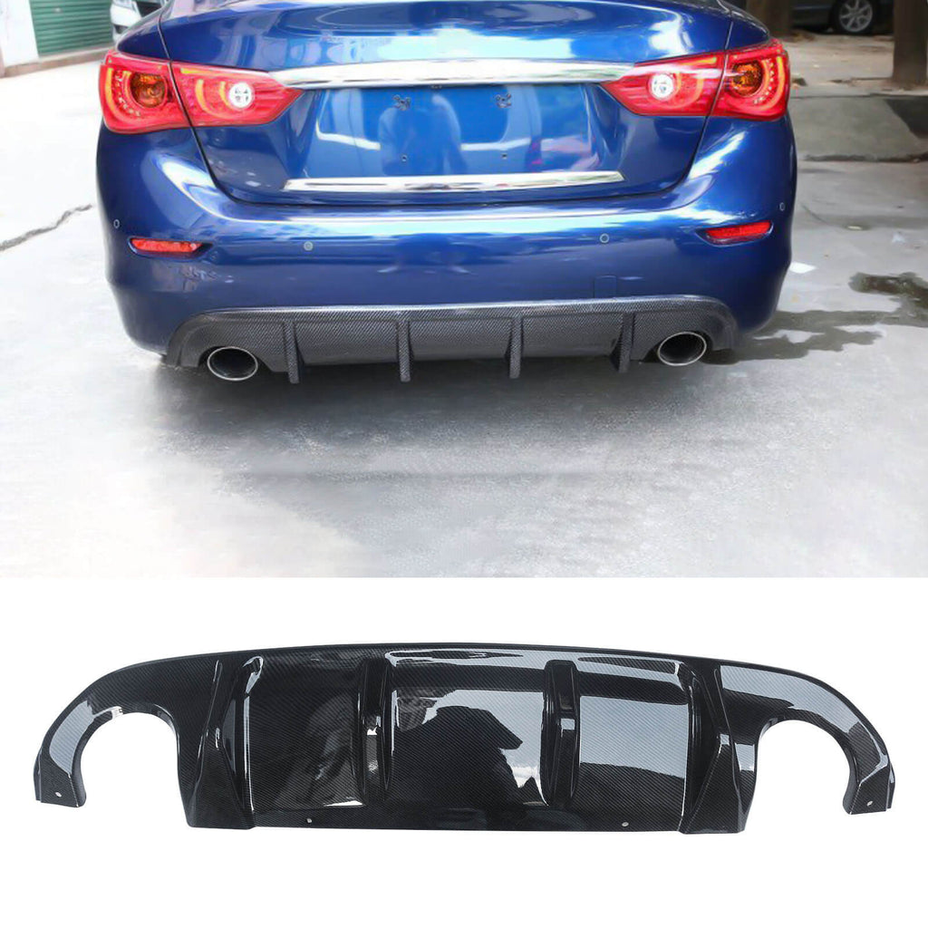 NINTE Rear Diffuser For Infiniti Q50 2014-2017