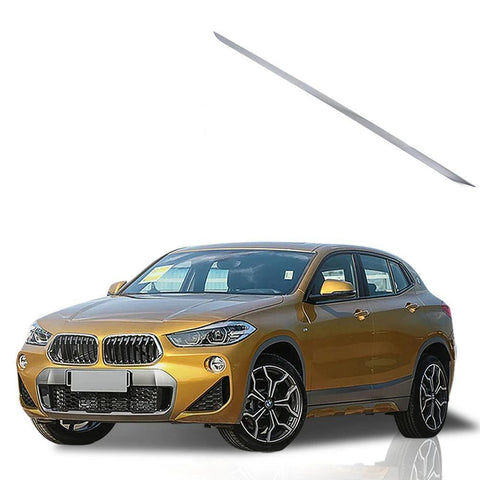 NINTE 1pcs Car Styling Stainless Steel Rear Trunk Boot tailgate Lower Mouldings Cover Trim For BMW X2 2018 - NINTE