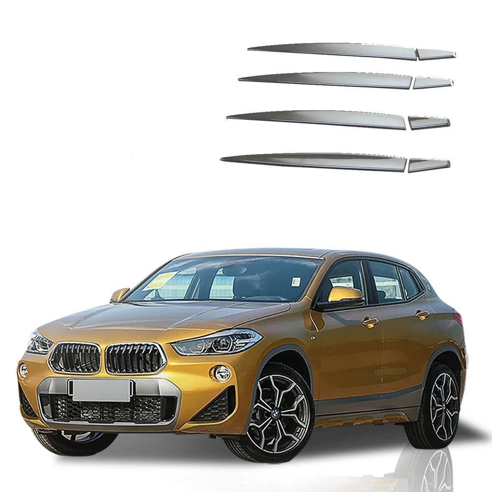 Ninte BMW X2 2018 8 PCS Car Accessory Stainless Steel Chrome Door Handle Cover - NINTE