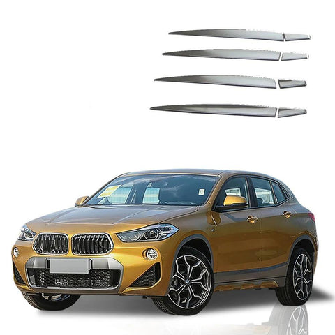 NINTE 8pcs Car Accessory Stainless Steel Chrome Door Handle Cover Trim For Bmw X2 2018 - NINTE