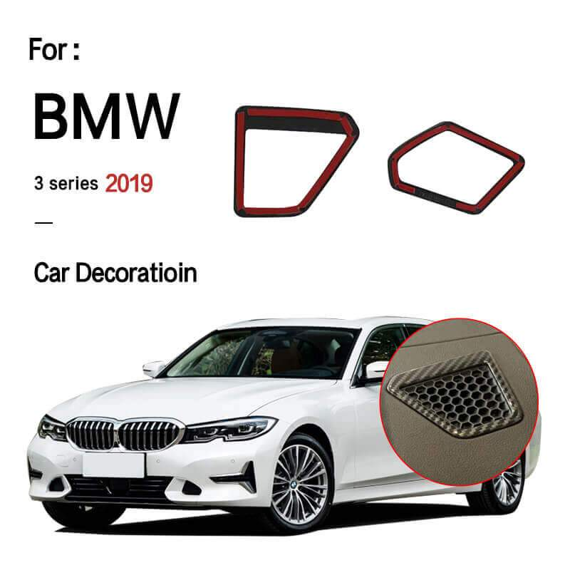 INTE BMW 3-Series G20 2019 Carbon  Fiber Front Upper Vent Air Outlet Fender Cover